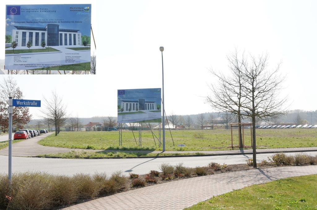 In Dassow wird in diesem Jahr der Grundstein für ein neues Gebäude von 5.000 Quadratmetern gelegt.