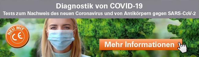 Weitere Informationen auf www.coronavirus-diagnostik.de
